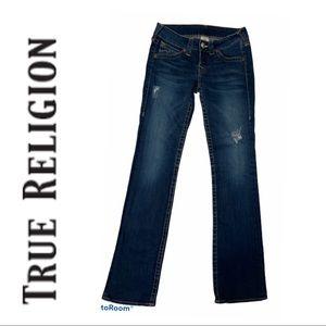 True Religion Johnny Style Straight Leg Jeans